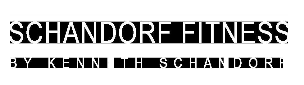 Schandorf Fitness Logo hvid